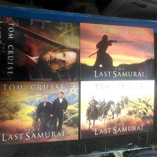 包郵 最後武士 LAST SAMURAI 4張 電影明信片 postcard TOM CRUISE