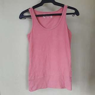 Salmon pink sleeveless (s)