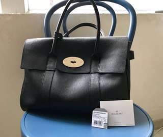Mulberry Bayswater Bag (Black)