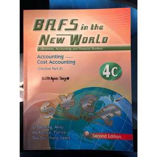 📚BAFS in the New World V4C Cost Accounting
