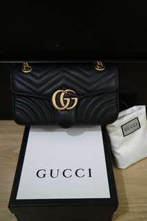Gucci Marmont Leather Black
