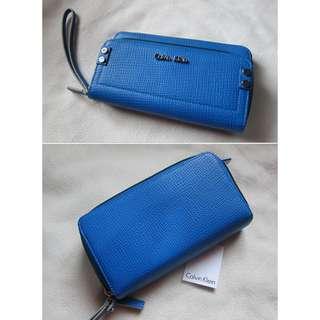CK Blue Wallet