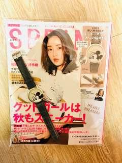 日本雜誌贈品 米奇手錶全新