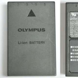 9成新 Olympus BLS-1 專用鋰充電池 正廠原裝電池 有4粒/每粒$200