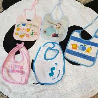 {all items-$2} Waterproof Baby Bibs