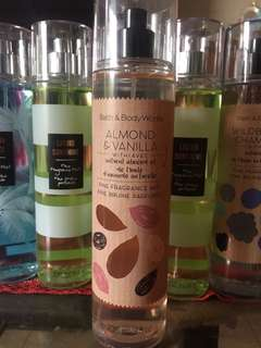 Bath & Body Works- Almond & Vanilla