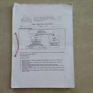 Hwa Chong Institution secondary 2 Science notes