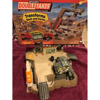 Military Double Takes Substation Phoenix Galoob MicroMachines Playsets 1990s BZ7