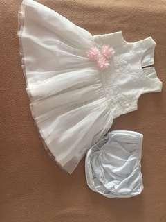 White birthday dress