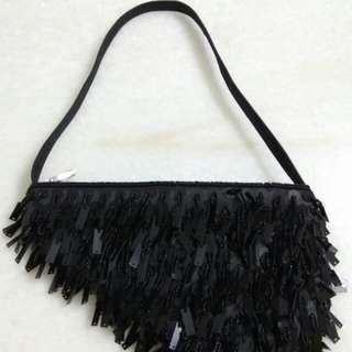Ladies Sequins Evening Hand Bag