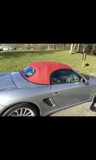 Porsche Boxster cabriolet 986 987 996 997 hood soft TOP roof repair