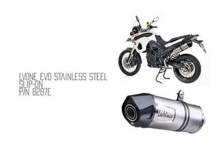 08-16 BMW F800GS Leo Vince One Evo Exhaust (LTA Approved)