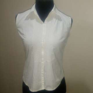White Casual to Semi Formal Blouse