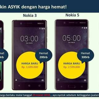 Nokia promo 0% cicilan tanpa CC