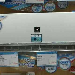 Sharp AC 1PK Low Watt Dp 0% + Free 1X Cicilan Cukup Admin 199.000