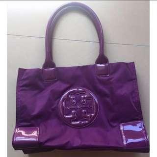 Tory Burch purple handbag