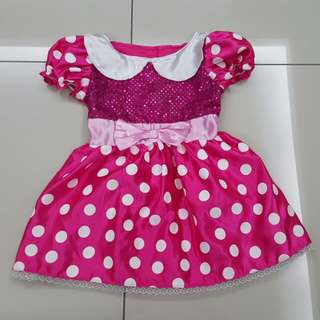 Disney Minnie Girl Dress (5-6years)