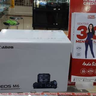 Camera CANON M6 Bisa cicilan tanpa kartu credit proses hanya 3 menit