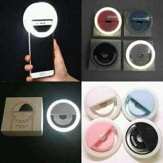 Morganstar portable LED selfie ring light