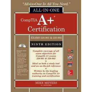 CompTIA A+ Certification All-in-One Exam Guide, 9th Edition- PDF (softcopy)
