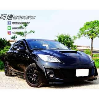 2011年 Mazda3 5D 黑色 熱門車款