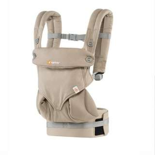 <CLEARANCE SALE> Ergobaby 360 Performance Carrier - Four Positions Carry Organic Cotton Ergonomic Baby Wearing Carrier - Moonstone