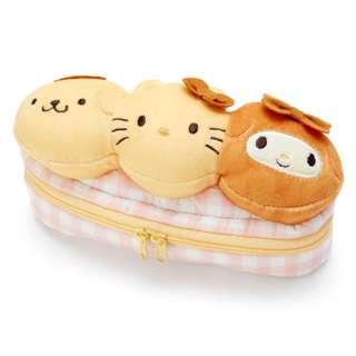 日本代購 sanrio 專門店 2018年 3月 hello kitty 吉祥物麵包系列公仔袋