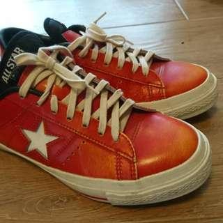 Converse 紅色鞋