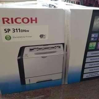 ⚠️已降價⚠️Ricoh Black&White Desktop Laser Printer