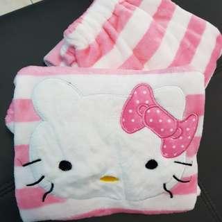 Ready stock>♥korean fashion Hello Kitty Sleepwear For Girls