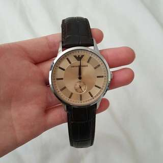 Emporio Armani Watch - genuine Leather