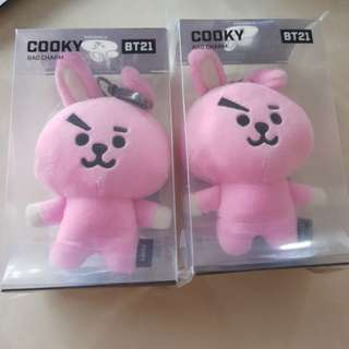 BTS BT21 COOKY BAG CHARM INSTOCKS