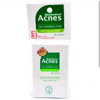 Acnes face oil control film