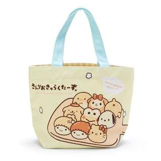 日本代購 sanrio 專門店 2018年 3月 hello kitty 吉祥物麵包系列 手提袋