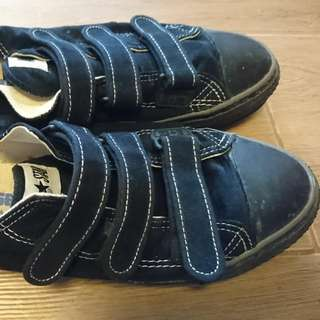 Vintage Converse 黑色布鞋