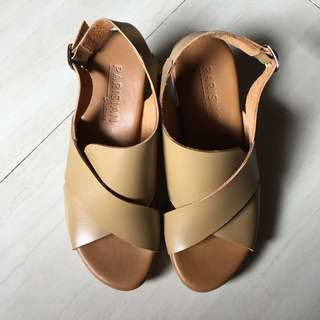 Parisian Original Genuine Leather Sandals