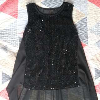 Sequined Top (Long back)