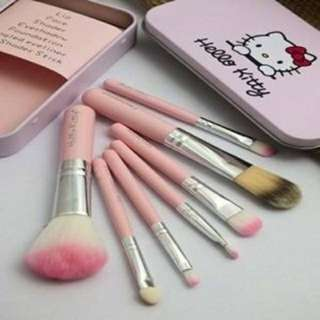 Pink Brushes (Hello Kitty)