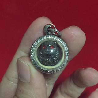 Red Eye Tiger ball Amulet