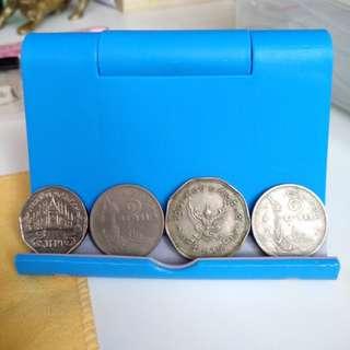 Old Thailand coins泰國硬幣 x9