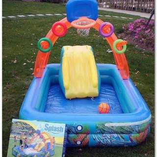 Splash inflatable swimming pool