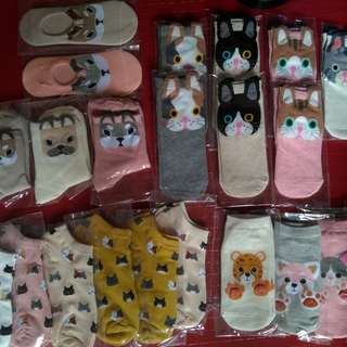 Korean character socks Affordable Cute Iconic Socks
