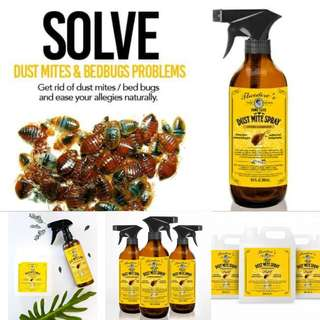 Theodore's All Natural Dust Mite Spray 250ml