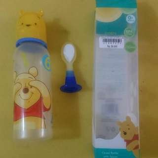 Cereal Botol Spoon Disney Baby