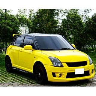 2006年 Swift  年輕輩專門小車