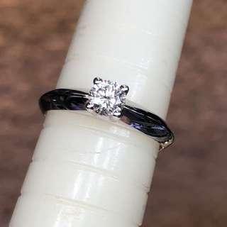18kt diamond ring 💍 鑽石戒指