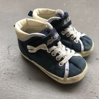 Mikihouse sneaker for baby girl