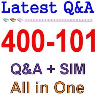Cisco Best Practice Material For 400-101 Exam Q&A PDF+SIM