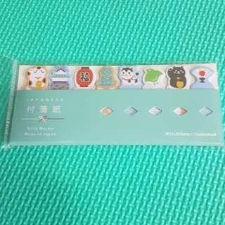 Bn Japanese cute bookmark stickers
