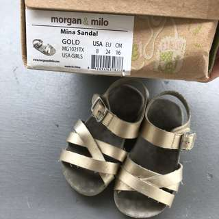 Morgan & Milo baby girl sandals
